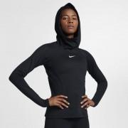Sweatà capuche de training Nike Pro HyperWarm pour Femme - Noir