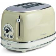 Ariete 155 Toaster Vintage Tostapane 2 Fette Con Pinze Potenza 810 Watt Colore B