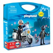 Playmobil 5891 Police/Thief Take-Along Carrying Case