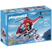 PLAYMOBIL Forest Helicopter Fire