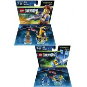 Lego Dimensions The LEGO Movie 2-Pack Variety Bundle - Emmet and Benny Fun Packs