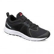 Reebok Men's Zone Cushrun 2.0 Coal, Black and White Running Shoes - 9 UK/India (43 EU)(10 US)