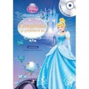 Disney Audiobook. Cenusareasa si prietenii ei. Povesti cu printese carte + CD