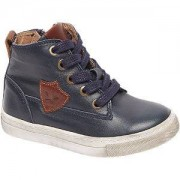 Bobbi-shoes Blauwe leren boot