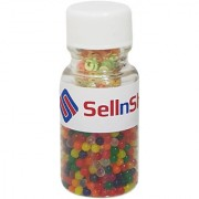 SellnShip Crystal Water Jelly Orbeez Balls Bottle Packing Set Colorful Magic Mud Soil Gel 500+ Beads Mixed Multi Color