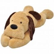 vidaXL ölelni való plüss kutya barna 120 cm