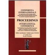 Conferinta Internationala Noi reglementari privind achizitiile publice - Emilia Lucia Catana
