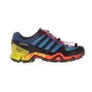 Adidas Terrex Fast R GTX Männer Gr. 12 - Hikingschuhe - blau schwarz rot