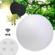 GUIRLED Sphère Premium Boule lumineuse Étanche & Solaire télécommandée 60 cm
