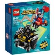 Конструктор ЛЕГО СУПЕР ХИРОУС, Mighty Micros: Batman vs. Harley Quinn, LEGO DC Comics Super Heroes, 76092