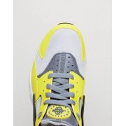 Nike Air Huarache Run Trainers In Yellow 318429-305 - Yellow