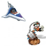 Skylanders Superchargers Figures. Includes Smash Hit and Sky Slicer. Epic Adventures Await with This Pack of Figures for Skylanders Superchargers.