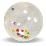 Activity Ball színes gömbökkel tartásjavítás-fejlesztésre, 50cm