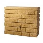 Garantia kunststof regenton rocky 400 liter beige