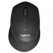 Мишка Logitech B330 Silent Plus, оптична, 1000 dpi, безжична, черна