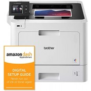 Brother Business Color Laser Printer, HL-L8360CDW, Wireless Networking, Automatic Duplex Printing, Mobile Printing, Cloud Printing, and Amazon Dash Replenishment Digital Setup Guide