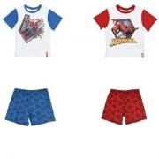 Spider-Man Marvel Spiderman T-shirt och Shorts (RÖD, 4A - 104 CM)