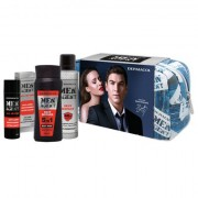 Dermacol Men Agent Sexy Sixpack confezione regalo doccia gel 5in1 250 ml +crema All In One 50 ml + deodorante antitraspirante 150 ml + trousse