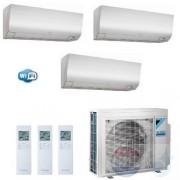 Daikin Trio Split 1.5+1.5+2.5 +4.0 kW Perfera FTXM-N Air Conditioner WiFi R-32 CTXM15N +CTXM15N +FTXM25N +3MXM40N A+++/A++ 5+5+9