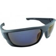 Polo House USA Rectangular Sunglasses(Black)