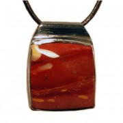 Metro Mod Man Mookaite Large Pendant MP-ML188