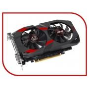 Видеокарта ASUS GeForce GTX 1050 1430Mhz PCI-E 3.0 2048Mb 7008Mhz 128 bit DVI HDMI DP HDCP CERBERUS-GTX1050-O2G