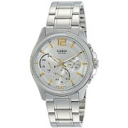 Casio Enticer Analog White Dial Womens Watch - Mtp-E305D-7Avdf(A993)