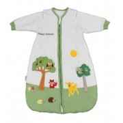 Sac de dormit cu maneca lunga detasabila Forest Friends 0-6 luni 2.5 Tog