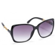 Stacle Over-sized Sunglasses(Black)