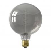Calex LED Full Glass Flex Filament Globe Lamp G125 - Titanium - Grijs