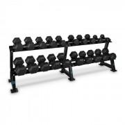 Capital Sports Dumbbell Rack Set, állvány súlyzókra, készlet, 20 hely, 10 x pár súlyzó (PL-8348-0482)