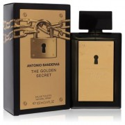 The Golden Secret For Men By Antonio Banderas Eau De Toilette Spray 3.4 Oz