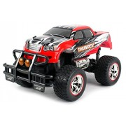 V Thunder Pickup Rc Remote Control Truck Big 1:14 Size Scale Off Road Series Ready To Run Rtr W/ Working Suspension, Spring Shock Absorbers (Colors May Vary)