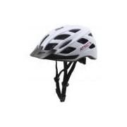 Capacete para Bike Atrio com LED BI104 - Adulto - BRANCO/ROSA Atrio