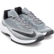 Nike AIR MAX INFURIATE LOW Basketball Shoes(Black, White)
