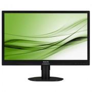 Philips Monitor 24 241S4LCB LED DVI Pivot Czarny + EKSPRESOWA WYSY?KA W 24H