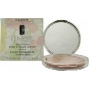 Clinique Stay-Matte Sheer Pressed Powder Oil-Free 7.6g - Honey