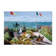 Educa Monet, Sainte-Adresse-i teraszon puzzle, 2000 darabos