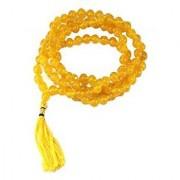 Natural Yellow Sulemani Hakik Mala 100% Original Agate Beads mala By Jaipur Gemstone