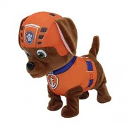 Collections Paw Patrol Toys for Kids Girls Boys Gifting Walking Shaking Tail and Music Clap for Walk Battery Operated Soft Toy Finish (ZUMA)