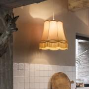 QAZQA Hanglamp Granny 45cm goud