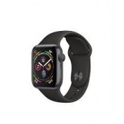 Apple Watch Series 4 (GPS + Cellular) 40mm Black Stainless Steel Black Sport Band Space Grey