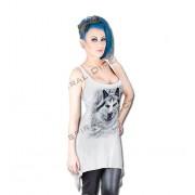 šaty dámské SPIRAL - Wolf - White - TR324290