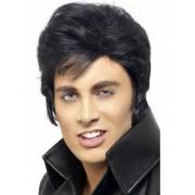 Vegaoo Elvis Presley -pruik voor mannen One size (M/L)