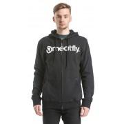 Meatfly Bluză Form Hood adică A - Black S