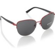 DKNY Round Sunglasses(Black)