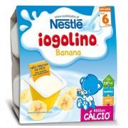 Nestle Iogolino gustare cu banane, 6 luni+, 4x100 g