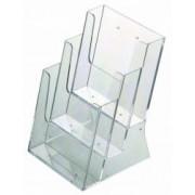Suport pliante multiplu pentru birou 3 x A5