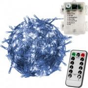 VOLTRONIC svetelná reťaz - 50 LED, teplá/studená biela