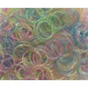Elastice Rainbow Loom - Lucios Mix-300 Buc